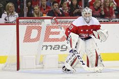 WASHINGTON, DC - NOVEMBER Goalie Braden Holtby of the Washington Capitals tends the net against the Arizona Coyotes during the third period at Capital One Arena on November 2018 in Washington, DC. (Photo by Patrick Smith/Getty Images) Washington Capitals Hockey, Washington Dc, Braden Holtby, Arizona Coyotes, Stanley Cup Champions, Nhl Games, Period, Third, November