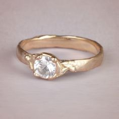 Lumineer ring #engagementrings #wedding http://www.roughluxejewelry.com/