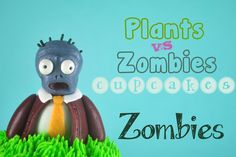 Bake Happy: How to Make Plants vs Zombies Cupcakes - Zombies (5 of 5)