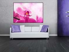 Tablou canvas orhidee - cod L01