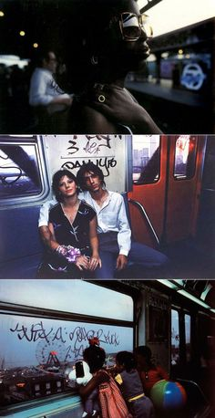 Amazing street photography. Bruce Davidson: Subway. New York street photography, urban photography.