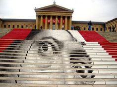 The Philadelphia Museum of Art, is one of the largest museums in the United States and is modeled after London's Victoria and Albert Museum.