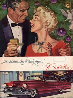 Vintage Cadillac ads