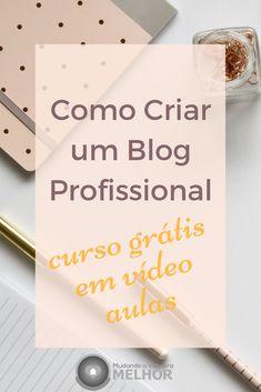 Clique no Pin - Visite o Blog e Inscreva-se Gratuitamente no Curso Como Criar um Blog Profissional, ficha de inscrição na página inicial do Blog. #blog #wordpress #trabalho #onlinemarketing #marketingdigital #marketing #empreendedorismo #blogging #blogueira