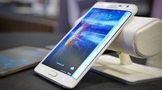 Galaxy Note Edge/ presented on IFA Berlin