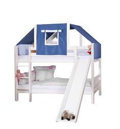 Inspirational Loft Bed with Tent