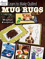 Free Quilt Pattern: Selvages On A Slant Mug Rug