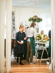 Old Dutch Master floral workshop  at Berlin Flower School
