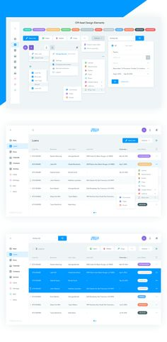 Loans Page - Uplabs Web Dashboard, Dashboard Design, Ui Web, Dashboard Interface, Graphisches Design, Web Ui Design, Design System, Ui System, Design Thinking