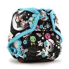Kanga Care Rumparooz Cloth Diaper Cover Snap TokispaceAquariusMulti One Size * Click image for more details.-It is an affiliate link to Amazon.