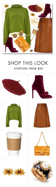 """""""Fall Colors"""" by nantucketteabook ❤ liked on Polyvore featuring Accessorize, Giuseppe Zanotti, Amanda Wakeley, Prada, Tiffany & Co., Chanel, Marc Jacobs, Fall and fallfashion"""