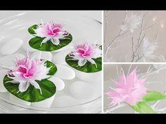 DIY: Wunderschöne Blüten aus Krepp-Papier einfach selber machen   Deko Kitchen - YouTube