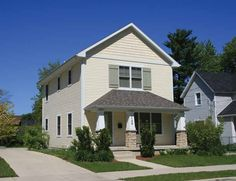 Eplans colonial revival house plan three bedroom for Maison eplans