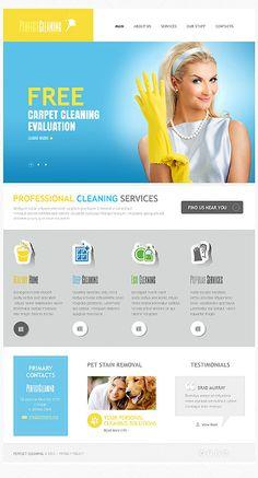 Website Template #webdesign #drupal