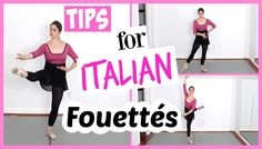Today I give you some tips for Italian Fouettés. These turns can be especially tricky. They often appear in ballets out of nowhere. Dance Tips, Dance Lessons, Dance Moves, Dance Videos, Dance Workouts, Ballet Class, Dance Class, Ballet Dance, Ballet Body