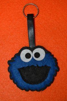 Felt cookie monster