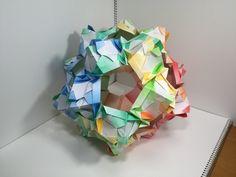 【Modular Origami】じぐざぐすけA30枚組【ユニット折り紙】16