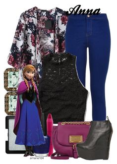 """""""Anna"""" by amarie104 ❤ liked on Polyvore featuring NARS Cosmetics, Effy Jewelry, Abercrombie & Fitch, tarte, OPI, Disney, Marc by Marc Jacobs and Jeffrey Campbell"""