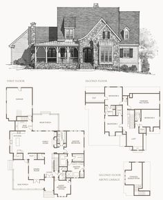 sl_home_floorplan The Elberton Way. An Exclusive Design for Southern Living by Mitchell Ginn