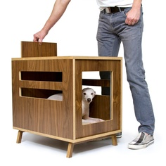 {Circa50: Dwell} modern pet crate - swanky lil house for cat or dog