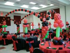 17 Best images about Ladybug party on Pinterest | Balloon columns ...