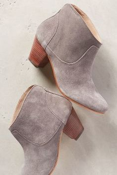 H by Hudson Kiver Booties Grey Boots #anthrofave #anthropologie