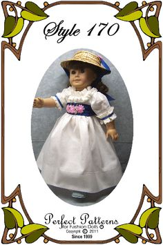 "Perfect Patterns for 18"" American Girl dolls."