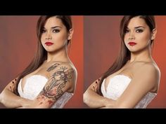 How to Remove a Tattoo in Photoshop - YouTube