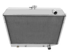 Champion Cooling Three Row Aluminum Radiator for 1972-1973 Plymouth Satellite CC1643