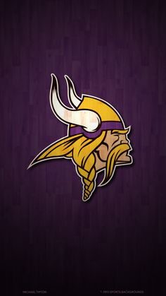 2019 Minnesota Vikings Wallpapers Pro Sports Backgrounds for Minnesota Vikings Wallpapers IPhone - Find your Favorite Wallpapers! Chiefs Wallpaper, Team Wallpaper, Football Wallpaper, Iphone Wallpaper, Minnesota Vikings Wallpaper, Nfl Vikings, Minnesota Vikings Football, Green Bay Packers Wallpaper, Green Bay Packers Logo