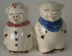 I've got 2 cookie jars from this pottery company! Can you say expensive.