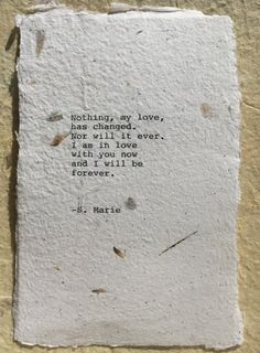 Anniversary Poetry Gift Sentimental Poem gift by WritingsBySMarie