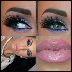 Minus the lips, cause those things look jacked up close!