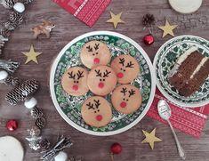 Biscuits rennes de Noël