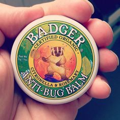 Up here in the Northern Sweden (with a beautiful midnight sun) the bugs are really annoying, a friend of mine who lives up here laughed at me when I told him I bought an organic all-natural bug balm, but this one really works! I strongly recommend it! via @ihearteco