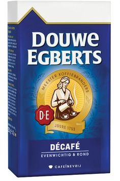Douwe Egberts Aroma Rood Decaf Coffee