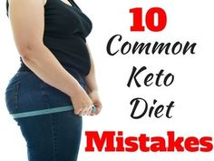 The Top 10 Common Keto Diet Mistakes. #7 was a big one for me. Which one is your biggest mistake and what ones did I miss?