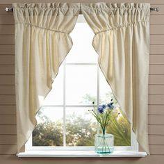 Country curtains can make any home into a farmhouse.