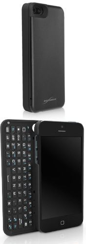 Keyboard Buddy Apple iPhone 5 Case - The best of both worlds. An ultra slim, slide out, bluetooth, backlit keyboard for the Apple iPhone 5.