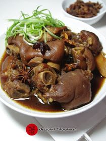 Easy Chinese Food Recipe - Original Taiwanese: Pigs Feet (Hand) Stew