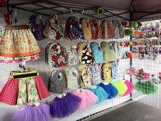 Brea Nutcracker Holiday Boutique 2012. Riley and Co. Hemp & Organic cotton bibs. rileyandco craft show craftshowdisplay craftshow setup craft booth