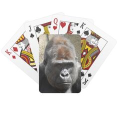 Gorilla Playing Cards