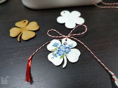 Mărțișorim - cum decorăm un mărțișor? Decoupage, Pendant Necklace, Animal, Diy, Jewelry, Jewlery, Bricolage, Jewerly, Schmuck