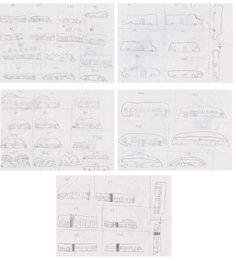 Bandi új versenybuszokat tervezett. Andrew just has designed brand new racing buses