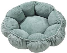 Petmate Puffy Round Cat Bed - Cypress Green * Check out this great product. (This is an affiliate link and I receive a commission for the sales)
