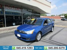 2011 FORD FOCUS SE 68k miles Call for Price 68398 miles 845-419-1293 Transmission: Automatic  #FORD #FOCUS #used #cars #JimmysAutoOutlet #Fishkill #NY #tapcars