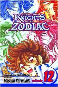 Knights of the Zodiac (Saint Seiya), Vol. 12: Death Match in the Master's Chamber! -Masami Kurumada