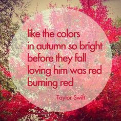 #taylorswift #red