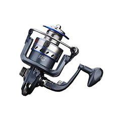 Comprar carrete de spinning Bello Luna JF 2000 Spinning Reel Anti-Reverse Rodamiento Anti-Corrosión para Pesca y Señuelo