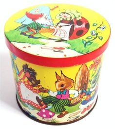 1960,s George Horner Sweet Tin - Easter Bunny | eBay | Toffee Tins ...